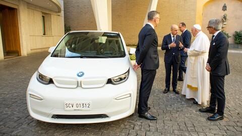 BMW i3 para el Papa Francisco