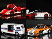 Los Porsche construidos con piezas de LEGO