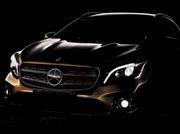 Mercedes-Benz GLA 2017, ligera actualización para el pequeño SUV alemán