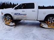 Track N Go, convierte tu auto en un vehículo para la nieve