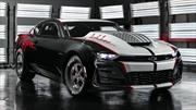 Chevrolet COPO Camaro John Force Edition 2020 es un auto de arrancones de colección