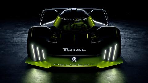 Este será el hiperdeportivo de Peugeot que competirá en Le Mans