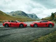 Porsche 718 Boxster T y 718 Cayman T se presentan