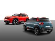Citroen alista dos SUVs para el Autoshow de Shanghai 2017