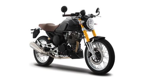 Italika presenta una opción Café Racer, la Blackbird