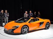 McLaren 650S Spider 2015 se presenta