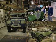 Land Rover rinde homenaje al Defender
