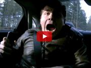 Video: cómo asustar a un periodista de autos, con un piloto de NASCAR