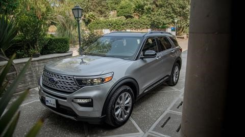 Manejamos la Ford Explorer 2020