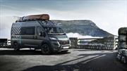 Peugeot Boxer 4x4 Concept es una casa rodante lista para la aventura