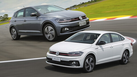 Volkswagen lanza en Chile las versiones GTS de Polo y Virtus
