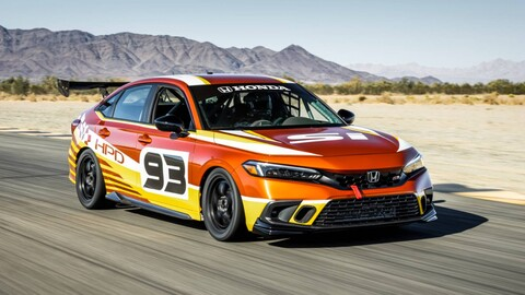 Honda Civic Si está listo para competir en las carreras de turismo