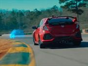 Honda Civic Type R real vs virtual, ¿cuál gana?