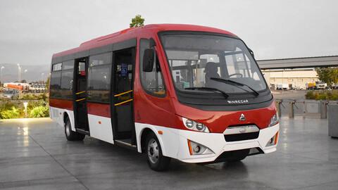 """Inrecar y Agrale le dan forma al primer bus """"made in Chile"""" con estándar RED para tránsito regional"""