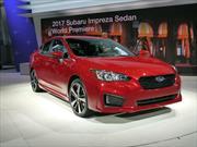 Subaru Impreza 2017 disponible en 2 carrocerías