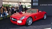 Mercedes-Benz SLS AMG 2012 debuta en la Gala del Automóvil 2011