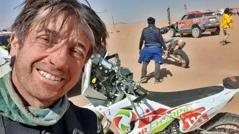 Dakar 2021: Murió un motociclista francés