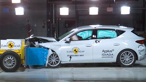 SEAT León logra la más alta calificación en pruebas de impacto en la EuroNCAP