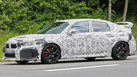 El futuro Honda Civic Type R se electrificará