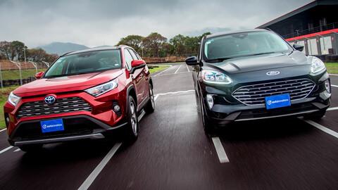 Ford Escape Híbrida 2021 VS Toyota RAV4 Híbrida 2021 ¿Cuál te da mejor rendimiento?