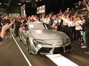 Toyota Supra 2020 y una subasta a lo grande