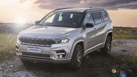Jeep Commander se presenta el SUV de 7 asientos que viene a Argentina
