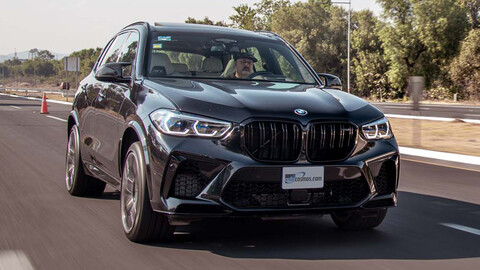 Probamos la BMW X5 M Competition 2021