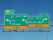 Cambian la tipografía de las señales de carretera en Estados Unidos