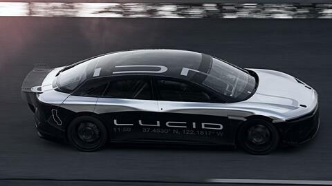 Lucid Air supera a Bugatti, McLaren, Ferrari y muchos otros en el cuarto de milla