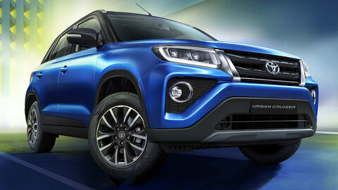 Toyota Urban Cruiser 2021 reencarna en India pero como un Suzuki