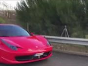 Video: Neymar se accidenta con su Ferrari 458 Spider