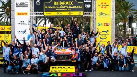 WRC 2021: Neuville gana en España por el honor de Hyundai