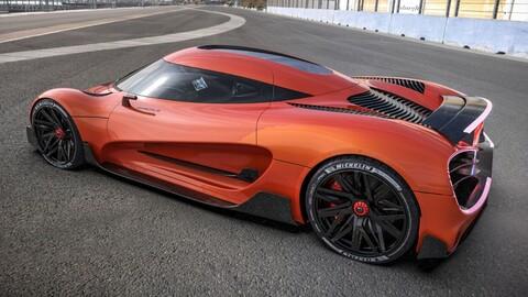 Viritech Apricale, superauto eléctrico con más de 1.000 hp