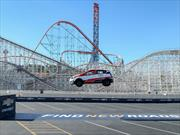 Video: Chevrolet Sonic rompe Récord Guinness de salto en reversa