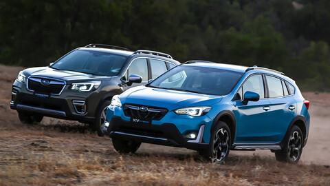 Subaru lanza en Chile su nueva linea de modelos híbridos