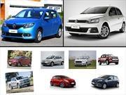 Los 10 autos más vendidos en Argentina en junio de 2017
