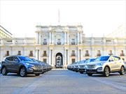 150 automóviles Hyundai para actividades de cambio de mando del Gobierno de Chile