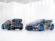 Ford Focus RS RX 2017, de Ken Block, en 3D