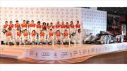 Jugadores del Real Madrid reciben autos Audi