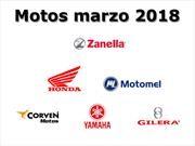 Las marcas de motos más vendidas en marzo