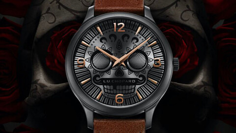 Chopard L.U.C Skull One, el exclusivo reloj de los muertos