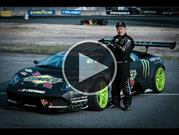 Video: así se preparó el primer Lamborghini del mundo para drift