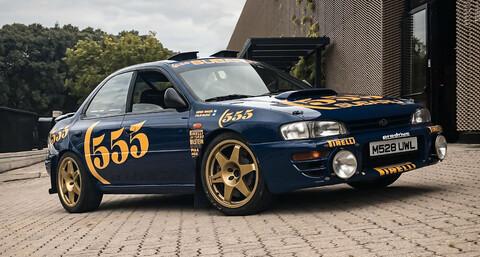 Uno de los Subaru Impreza 555 manejado por Colin McRae se va a subasta