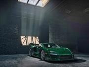 El primer McLaren Senna es color verde esmeralda