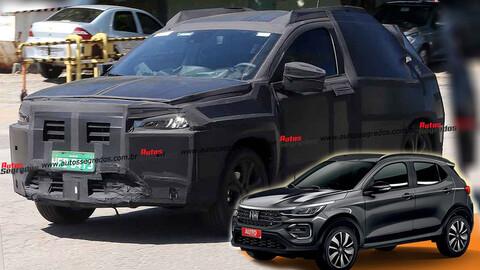 FIAT Proyecto 363 ya se prueba en las calles de Brasil