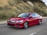 Honda Accord 2016 llega a México desde $339,900 pesos