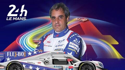 Juan Pablo Montoya ganó las 24 Horas de Le Mans en su categoría