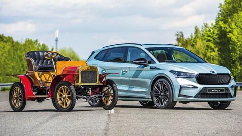 Škoda celebra 120 años de historia