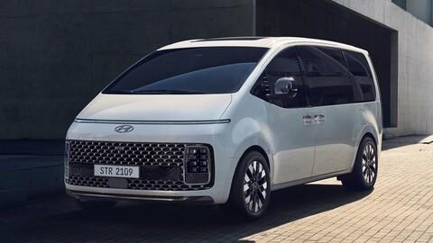 Hyundai Staria: Moderno y sobrio por donde lo mires