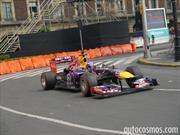 Los Fórmula 1 de Infiniti Red Bull Racing visitaron la Ciudad de México